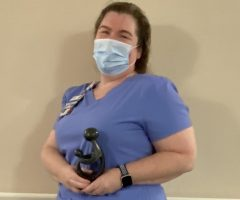 HaysMed Nurse Recognized with Daisy Award